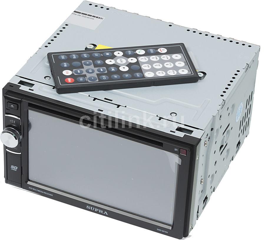 Автомагнитола SUPRA SWD-607NV,  USB,  SD/MMC
