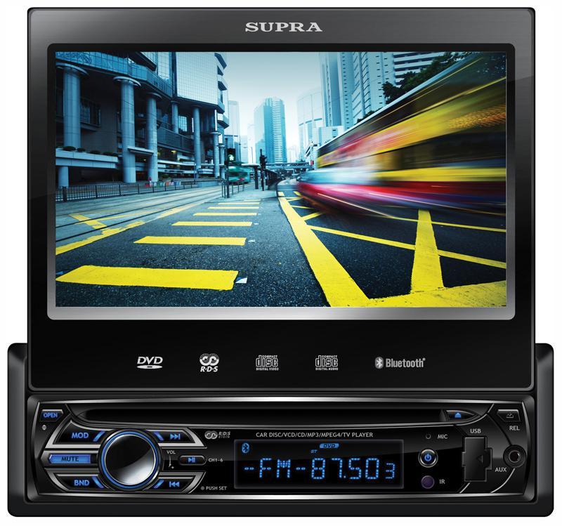 Автомагнитола SUPRA SWM-775,  USB,  SD/MMC
