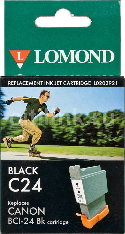 Картридж LOMOND BCI-24Bk черный [l0202921]