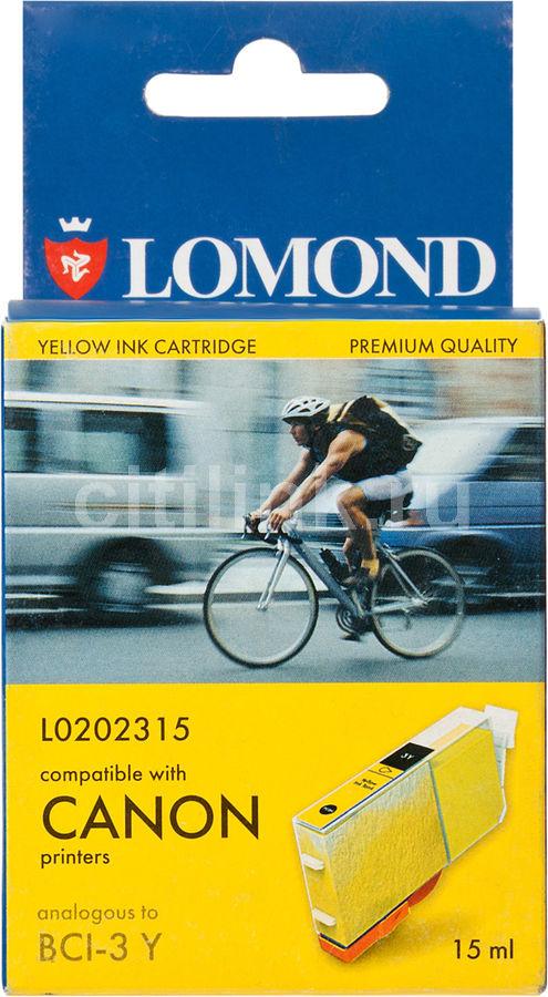 Картридж LOMOND BCI-3Y желтый [l0202315]