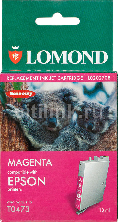Картридж LOMOND T0473 пурпурный [l0202708]