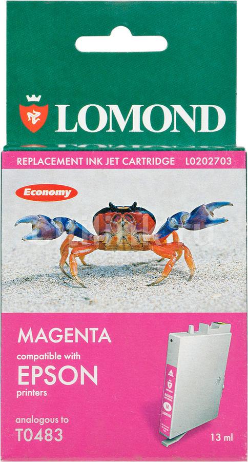 Картридж LOMOND T0483 пурпурный [l0202703]
