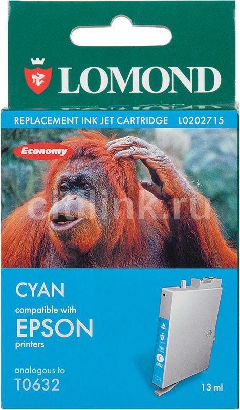 Картридж LOMOND T0632 голубой [l0202715]