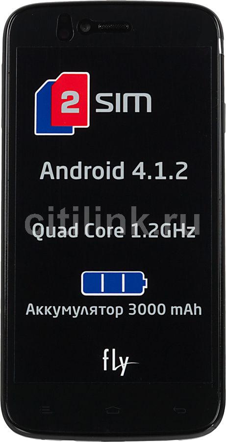 Смартфон FLY Quad Energie 2 IQ4411  черный
