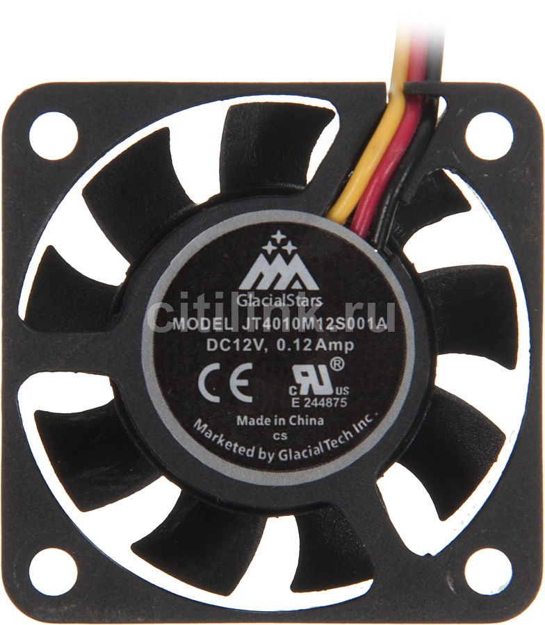 Вентилятор GLACIALTECH IceWind GS4010,  40мм, Bulk