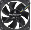 Вентилятор GLACIALTECH GT8025-LWD0B,  80мм, Bulk вид 3