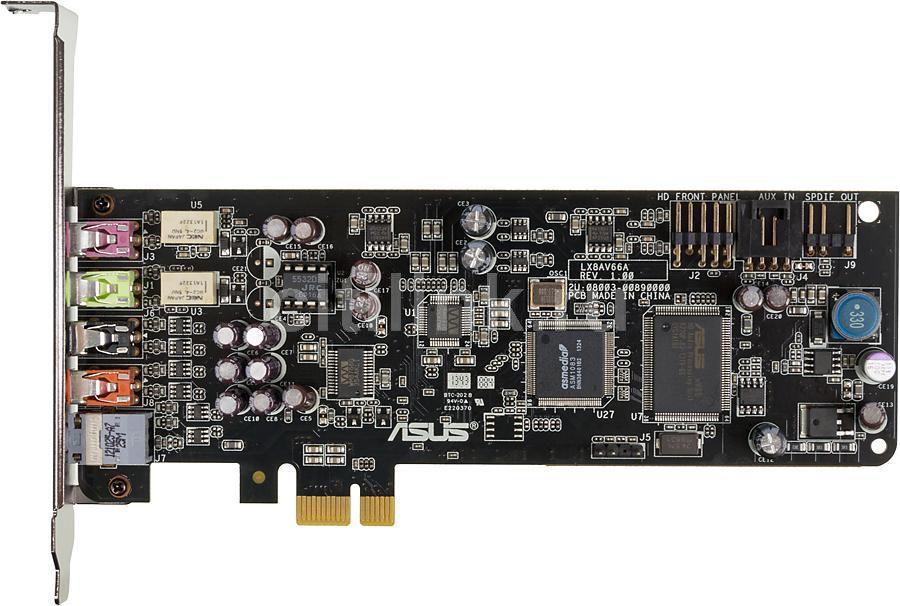 Звуковая карта PCI-E ASUS Xonar DSX,  7.1, Ret