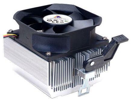 Вентилятор Glacialtech Igloo 7321 Light Soc-AMD/ 3pin 25dB Al 95W 380g скоба RTL