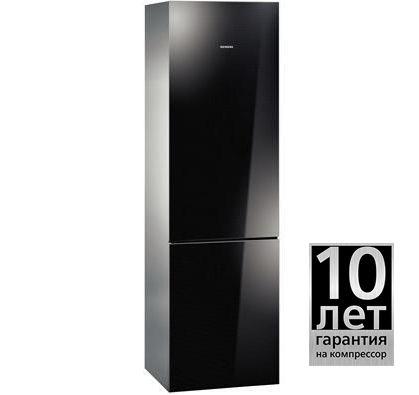Холодильник SIEMENS KG39FSB20R,  двухкамерный,  черное стекло