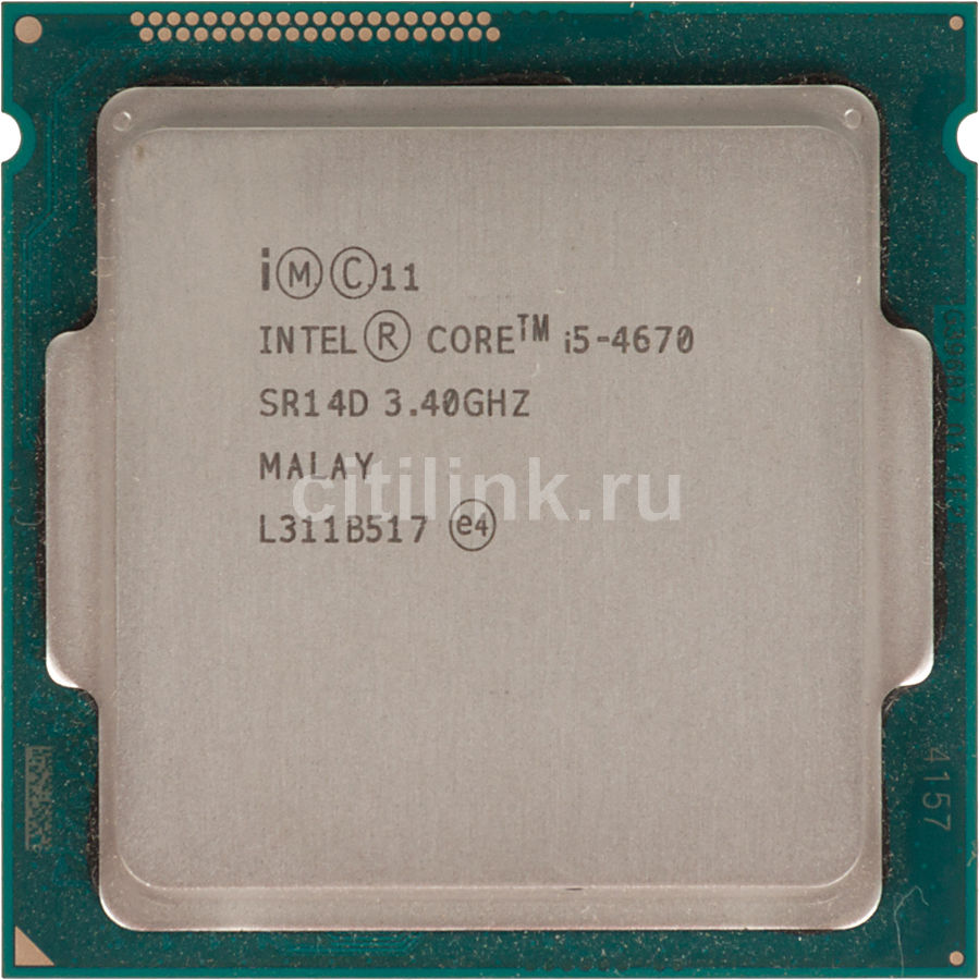 Процессор INTEL Core i5 4670, LGA 1150 OEM