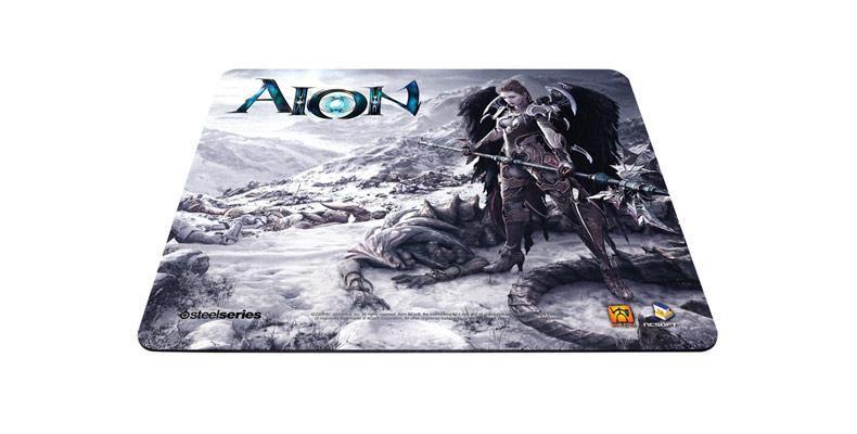 Коврик для мыши STEELSERIES QcK Limited Edition (Aion Asmodian) рисунок/черный [63326]