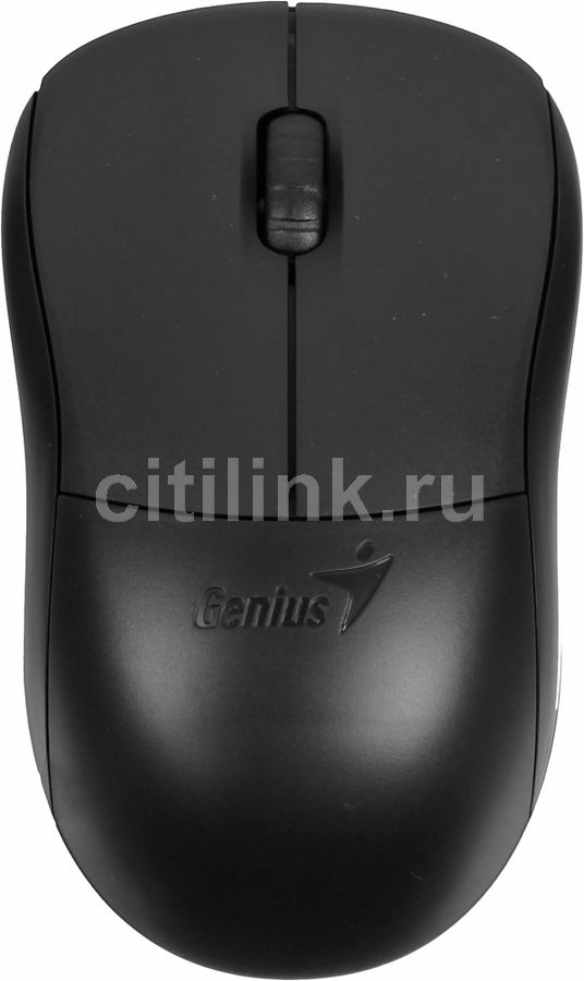 Мышь GENIUS NS-6000 оптическая беспроводная USB, черный [31030089101]