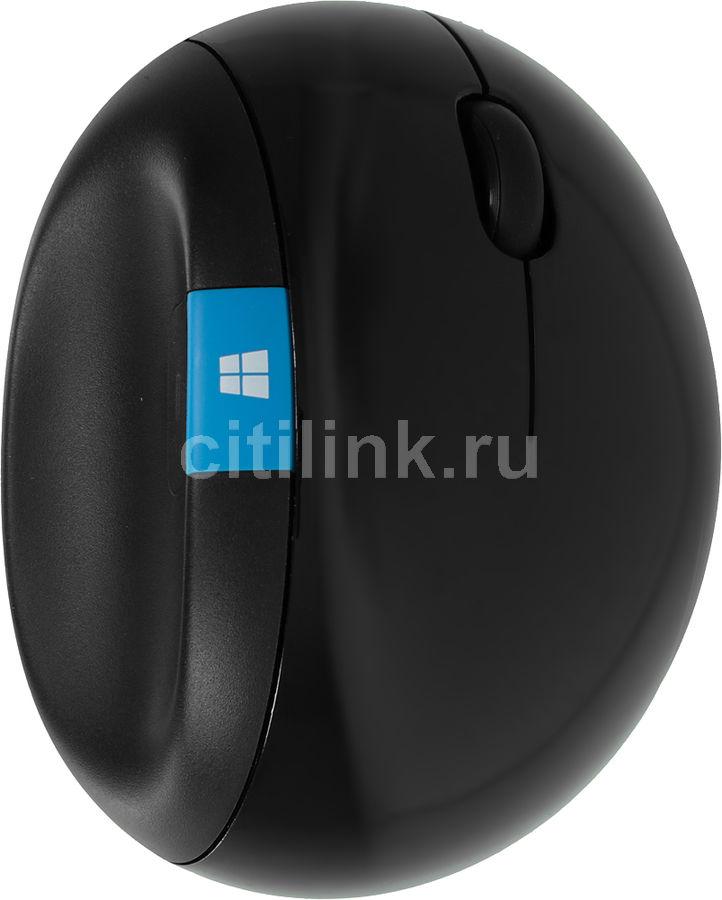 Мышь MICROSOFT Sculpt ERGO оптическая беспроводная USB, черный [l6v-00005]