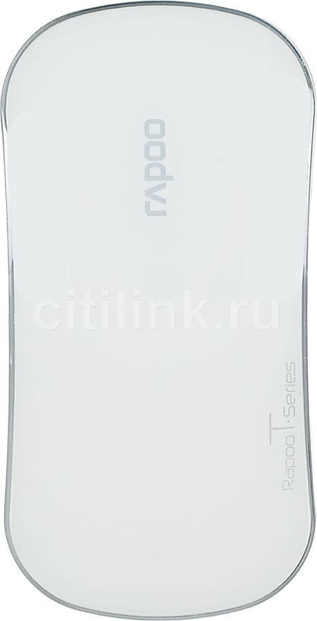 Мышь RAPOO T6 оптическая беспроводная USB, белый [10684]