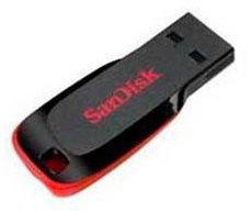 Флешка USB SANDISK 4Гб, USB [fd-4gb/sd/metro]