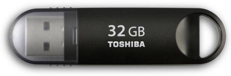Флешка USB TOSHIBA Suzaku U361 32Гб, USB3.0, черный [thn-u361k0320m4]