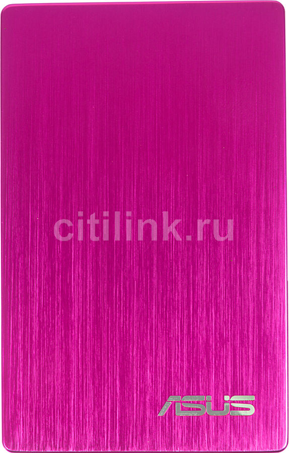 Внешний жесткий диск ASUS AN200, 1Тб, розовый [90-xb1z00hd000i0-]