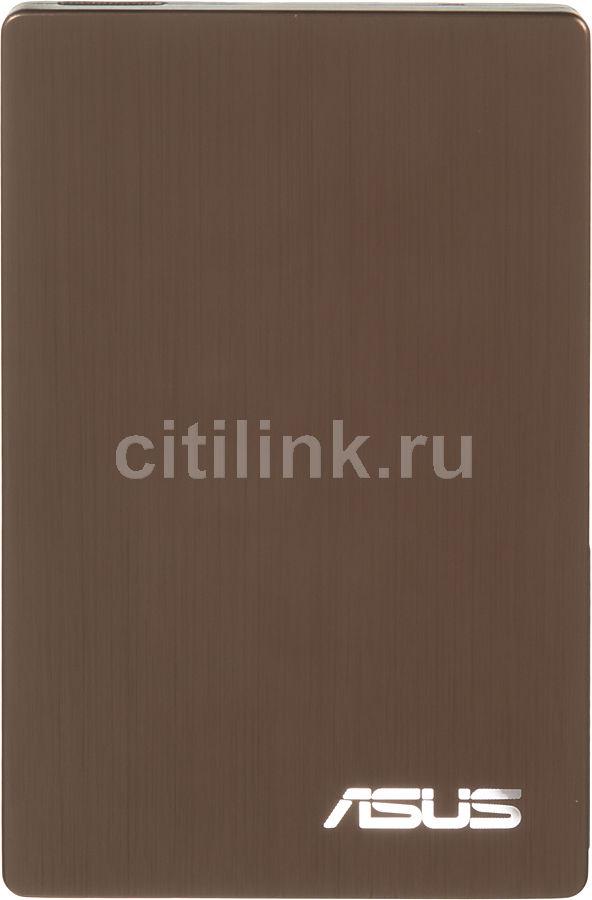 Внешний жесткий диск ASUS AN300, 1Тб, коричневый [90-xb2600hd00080-]