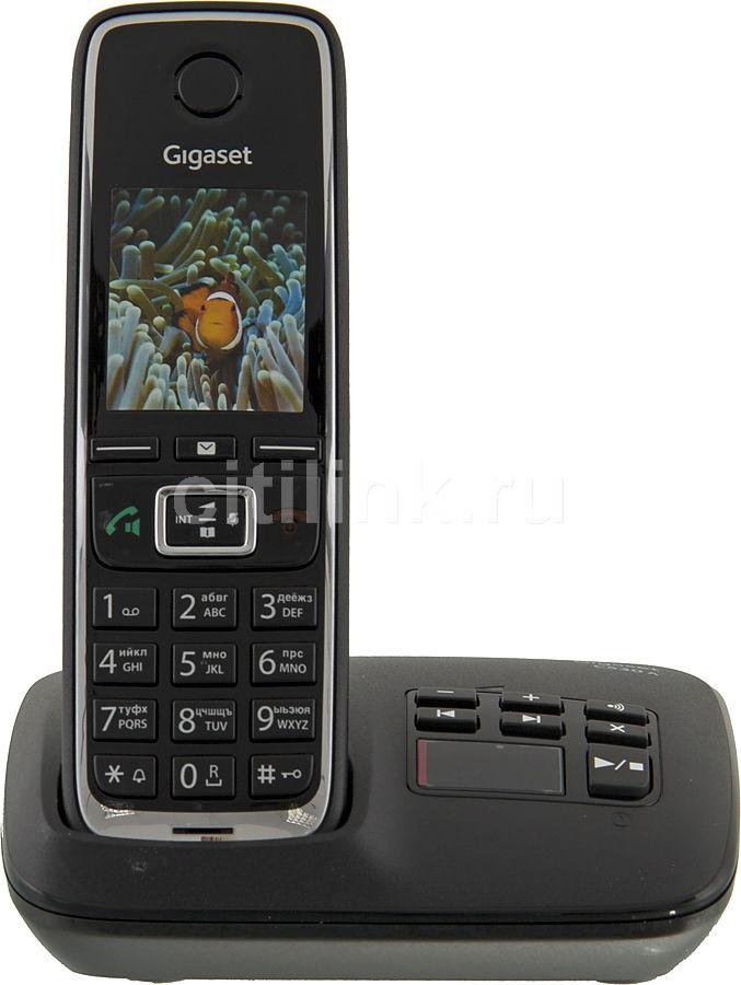 Радиотелефон GIGASET C530A,  черный