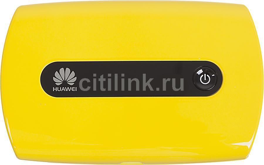 Модем HUAWEI E5221 3G, внешний, желтый [51070gkl]