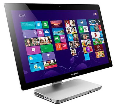 Моноблок LENOVO A530, Intel Core i7 4700MQ, 8Гб, 1Тб, nVIDIA GeForce GT740M - 2048 Мб, DVD-RW, Windows 8 [57318764]