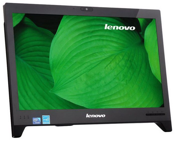 Моноблок LENOVO C240, Intel Celeron 1017U, 4Гб, 500Гб, Intel HD Graphics, DVD-RW, Free DOS, черный [57319858]