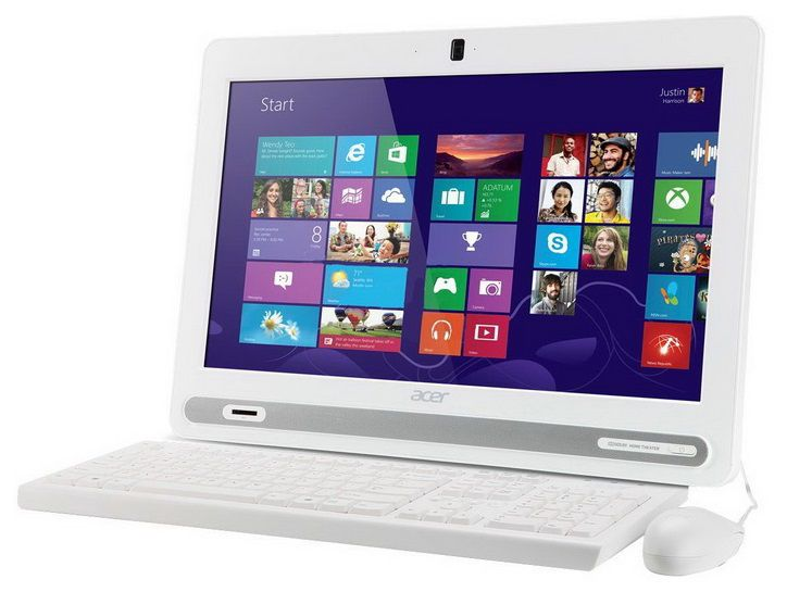 Моноблок ACER Aspire ZC-602, Intel Celeron, 2Гб, 500Гб, Intel HD Graphics, DVD-RW, Windows 8 [dq.stger.002]