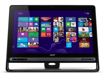 Моноблок ACER Aspire Z3-605, Intel Core i5, 4Гб, 1Тб, AMD Radeon HD 8670 - 1024 Мб, DVD-RW, Windows 8 [dq.sqqer.005]