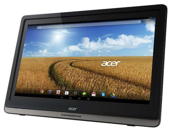 Моноблок ACER DA241HL, NVIDIA Tegra 3 T33, 1Гб, 16Гб SSD,  nVIDIA, Android 4.2.2, черный [um.fd0ee.006]