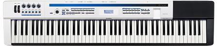 Цифровое фортепиано PRIVIA CASIO PX-5SWE, 88, полновзвешенная, полноразмерные, 256, белый
