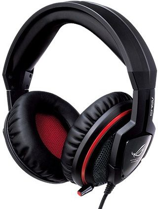 Наушники с микрофоном ASUS Orion Pro,  мониторы, черный  / красный [90-yahi9180-ua00]