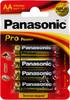Батарея PANASONIC ProPower LR6PPG/4BP LR6,  4 шт. AA вид 1
