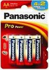 Батарея PANASONIC ProPower Gold 6 шт. AA вид 1