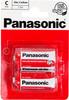 Батарея PANASONIC Zink Carbon R14RZ/2BP R14,  2 шт. C вид 1