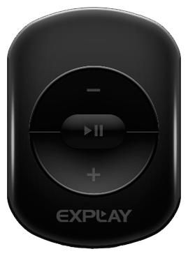 MP3 плеер EXPLAY A1 flash 4Гб черный