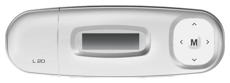 MP3 плеер EXPLAY L20 flash 4Гб белый