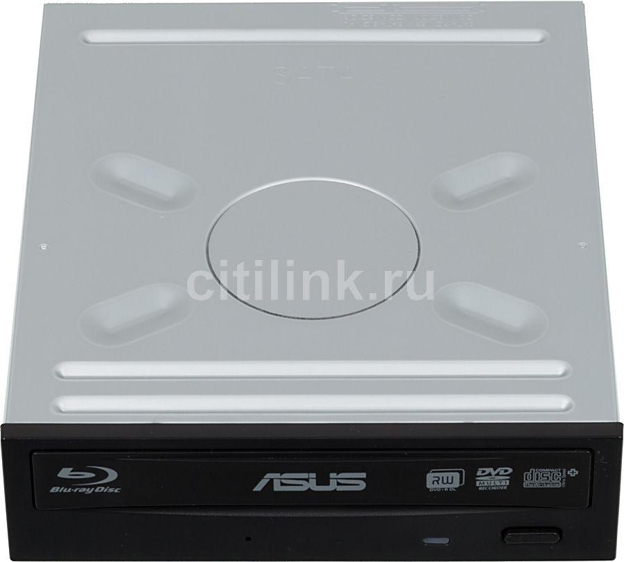 Оптический привод Blu-Ray ASUS BW-16D1HT/BLK/B/AS, внутренний, SATA, черный,  OEM
