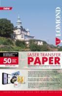 Термотрансфер Lomond 0807435 A4/140г/м2/50л./прозрачный для лазерной печати