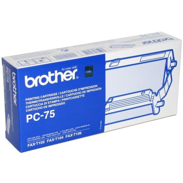 Термопленки для факсов BROTHER 1 шт [pc75]
