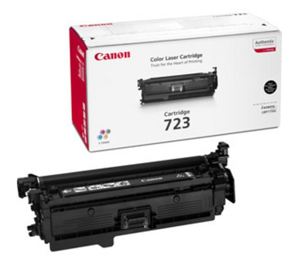 Картридж CANON 723BK черный [2644b002]