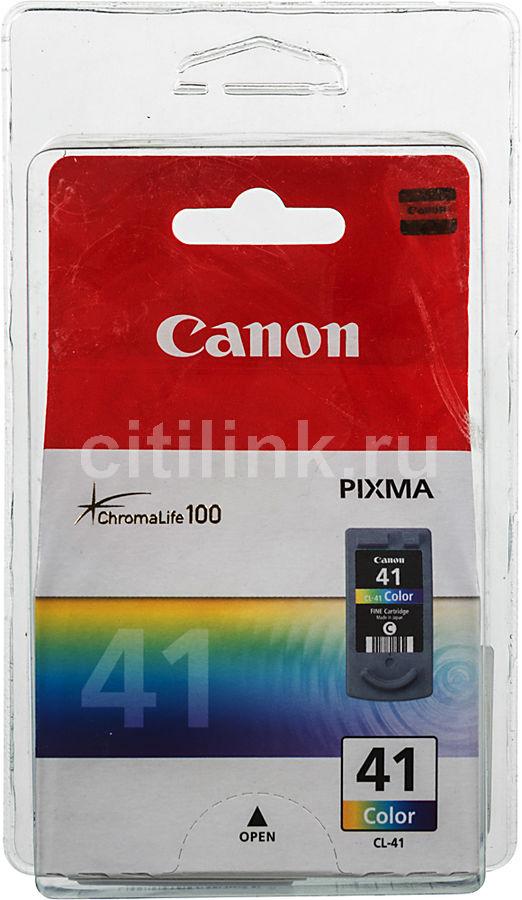 Картридж CANON CL-41/BL 0617B025,  многоцветный [0617b025/bl]