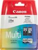Двойная упаковка картриджей CANON PG-440/CL-441 черный / трехцветный [5219b005] вид 1