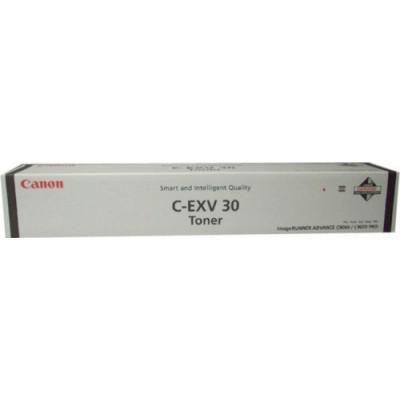 Тонер CANON C-EXV30Bk,  для C9000 PRO,  черный, флакон