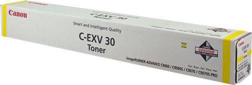 Тонер CANON C-EXV30Y,  для C9000 PRO,  желтый, флакон
