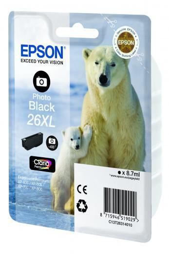 Картридж EPSON C13T26314010 фото черный