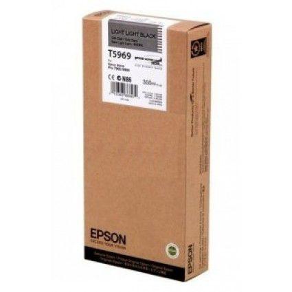 Картридж EPSON T5969 светло-серый [c13t596900]