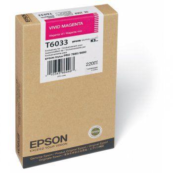 Картридж EPSON T6033 пурпурный [c13t603300]