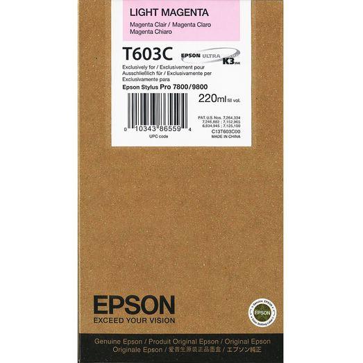 Картридж EPSON C13T603C00 светло-пурпурный
