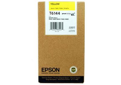 Картридж EPSON T6144 желтый [c13t614400]