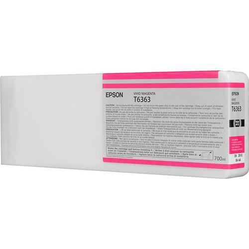Картридж EPSON T6363 пурпурный [c13t636300]